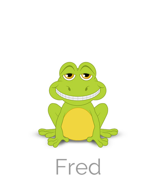 Mr Fred the Frog