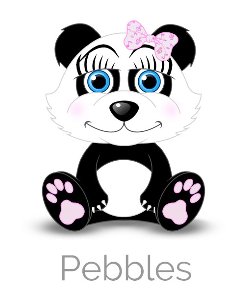 Pebbles the Panda